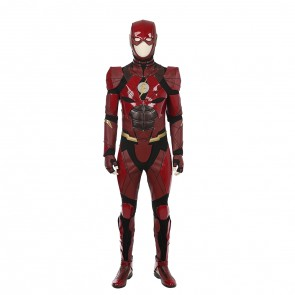 Justice League The Flash Sneak Peek Cosplay Costume With Shoes