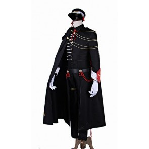 Code Geass 10th Anniversary Code Black Uniform Cosplay Costume
