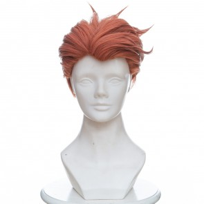 Orange 30cm Overwatch Moira Cosplay Wig