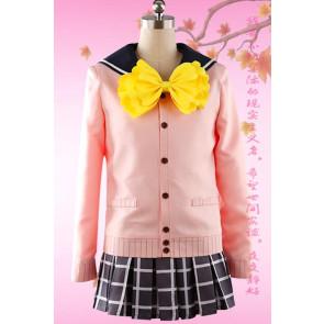 The Idolmaster SideM Saki Mizushima School Uniform Cosplay Costume
