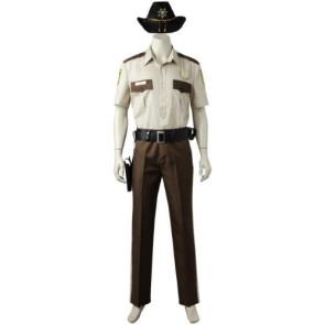 The Walking Dead Season 1 Rick Grimes Cosplay Costume