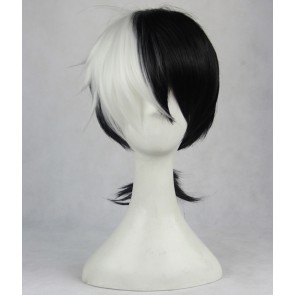 Black and White 40cm Young Black Jack Kuroo Hazama Cosplay Wig