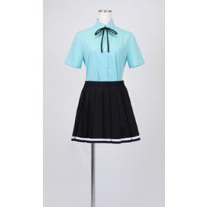 Kuroko no Basuke Satsuki Momoi Summer Uniform Cosplay Costume