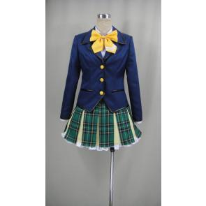 Battle Girl High School Junior High School Uniform Cosplay Costume