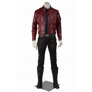 Guardians of The Galaxy Peter Quill Star Lord Cosplay Costume Version 2