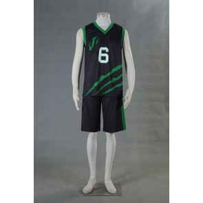 Kuroko no Basuke LAST GAME Team Jabberwock No.6 Cosplay Costume