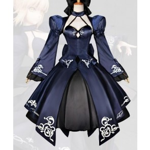 Fate/zero Saber Alter 2nd Version Cosplay Costume