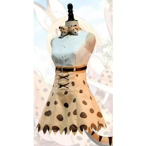 Kemono Friends Serval Cosplay Costume