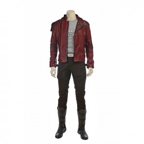 Guardians of the Galaxy Vol. 2 Star-Lord Cosplay Costume Version 2