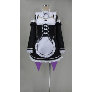 Re:ZERO -Starting Life in Another World- Ram Maid Cosplay Costume
