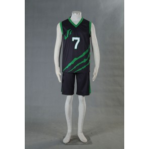 Kuroko no Basuke LAST GAME Team Jabberwock No.7 Cosplay Costume
