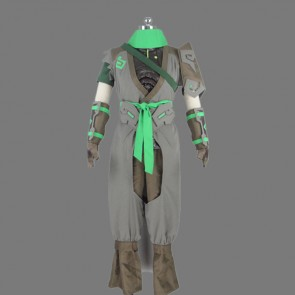 Overwatch Sparrow Genji Cosplay Costume