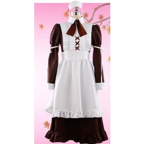Fate/Apocrypha Frankenstein Maid Cosplay Costume