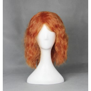 Orange 40cm Heroes of the Storm Sonya Cosplay Wig