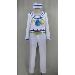 JoJo's Bizarre Adventure Josuke Higashikata Sailor Suit Cosplay Costume