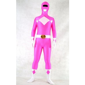Rose Spandex Power Rangers Superhero Zentai Bodysuit Costume