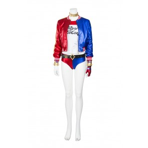 Batman Suicide Squad Harley Quinn Suit Cosplay Costume