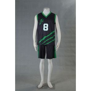 Kuroko no Basuke LAST GAME Team Jabberwock No.8 Cosplay Costume