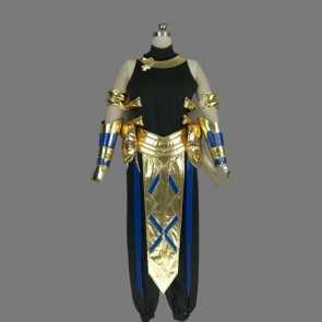 Fate/Prototype Fragments of Blue and Silver Rider Cosplay Costume