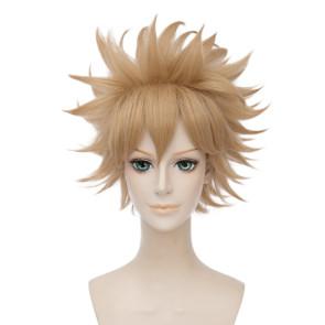 Gold 30cm My Hero Academia Katsuki Bakugo Cosplay Wig
