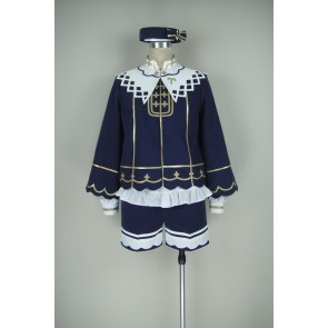 Ensemble Stars Suou Tsukasa Cosplay Costume (Midnight Blue)