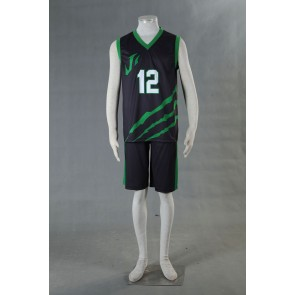 Kuroko no Basuke LAST GAME Team Jabberwock No.12 Cosplay Costume