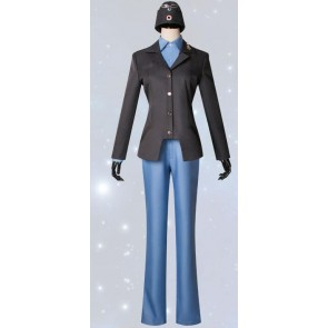 Strike Witches Waltrud Krupinski Cosplay Costume