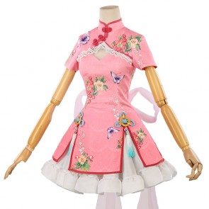 Little Witch Academia Akko Atsuko Kagari Cheongsam Cosplay Costume