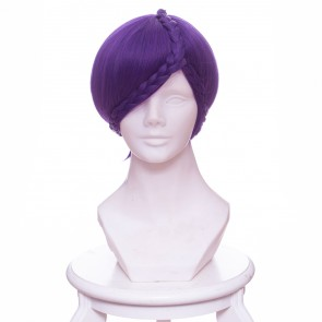 Purple 30cm Land of the Lustrous Amethyst Cosplay Wig
