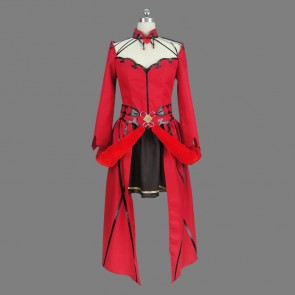Fate/Grand Order Rin Tosaka Red Cosplay Costume Version 2