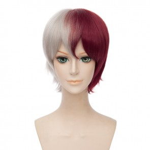 30cm My Hero Academia Shoto Todoroki Cosplay Wig