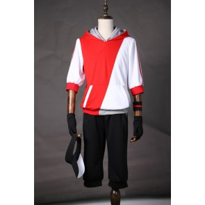 Pokemon Go Male Trainer Team Instinct Mystic Valor Red Cosplay Costume