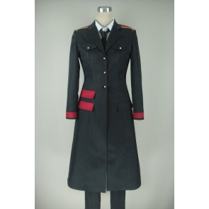 Noragami Bishamon Cosplay Costume (with Trench Coat)