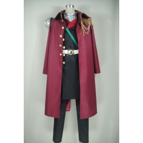 Seraph of the End: Vampire Reign Tenri Hiiragi Cosplay Costume