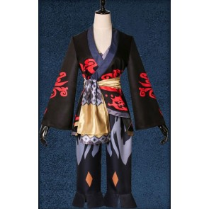 Final Fantasy XIV: A Realm Reborn Lord's Yukata (Blackflame) Cosplay Costume