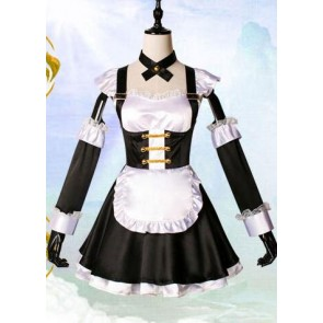 Fate/Extella Tamamo-no-Mae Maid Cosplay Costume
