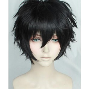 Black 30cm Persona 5 Protagonist Cosplay Wig