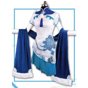 Overwatch Mei Cheongsam Cosplay Costume