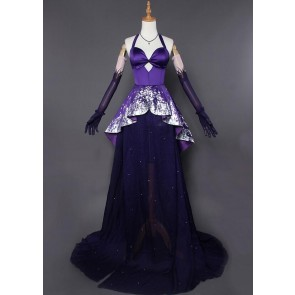 Fate/Grand Order Scathach Heroic Spirit Formal Dress Cosplay Costume
