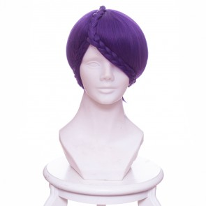 Purple 30cm Land of the Lustrous Amethyst Cosplay Wig Version 2