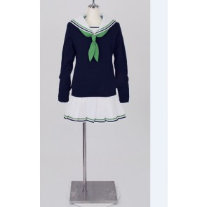 Kuroko no Basuke Riko Aida Sailor Suit Long Sleeves Cosplay Costume