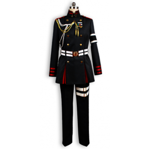 Seraph of the End: Vampire Reign (Owari no Serafu) Guren Ichinose Cosplay Costume
