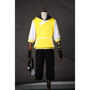 Pokemon Go Male Trainer Team Instinct Mystic Valor Yellow Cosplay Costume