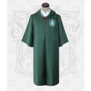 Harry Potter Slytherin Quidditch Uniform Cosplay Costume