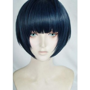 Blue 35cm Persona 5 Tae Takemi Cosplay Wig