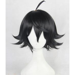 Black 35cm Shomin Sample Kimito Kagurazaka Cosplay Wig