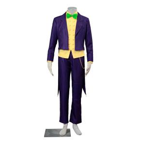 Batman: Arkham City The Joker Cosplay Costume (Green Bowtie)
