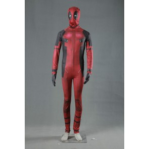 Deadpool Jumpsuit Cosplay Costume