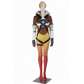Overwatch Tracer Lena Oxton Yellow Version Cosplay Costume