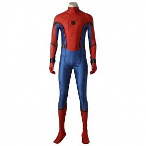 Spider-Man: Homecoming Peter Parker Spider-Man Cosplay Costume Version 2